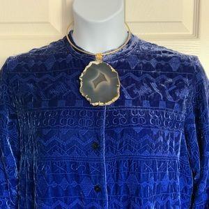 CHICO'S silk blend plus size jacket/blouse